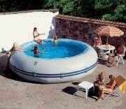 Best Swimming Pool for Garden Zodiac Winky Original Round Pool 6.3m x 1.05m