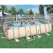 """Best Swimming Pool for Garden POOL RECTANGULAR HARD """"ISEO"""" 404X201X100H CM. capacity 6930 lt. (90%)"""