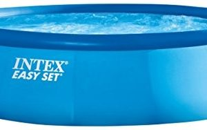 """Best Swimming Pool for Garden Intex 15ft x 42"""" Easy Set Above Ground Pool with Filter Pump and Accessories (28166)"""