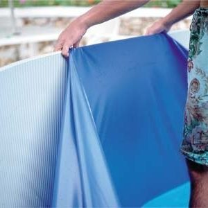 Best Swimming Pool for Garden Liner Gre Overlap Blue 730x 375x 120-132Oval Profile (without Pendant) Thickness 40/100