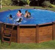 Best Swimming Pool for Garden Pool fuoriterra Mod. Hawaii Astralpool Ø 500x 132cm.