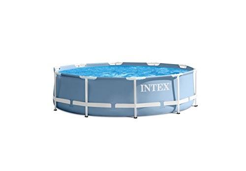 Best Swimming Pool for Garden Intex Frame Swimming Pool Kit PRISM 3m66366x366x76cm x 76cm, Light Blue, 6,50328712np