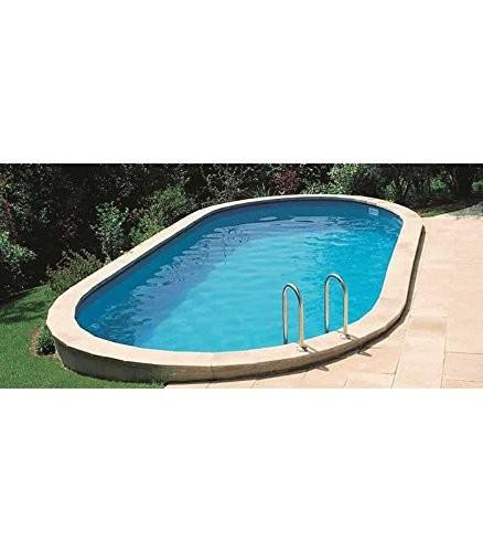 Inground swimming pool of gre sumatra 610x375x120 cm for Swimming pool 120 cm tief