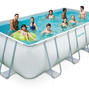 Best Swimming Pool for Garden Summer Waves Swimming Pool 549X274X132 CM Complete Set Swimming Pool with Steel Frame and Accessories