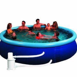 Best Swimming Pool for Garden Friedola 12416 Quick Pool Set 240 x 60 cm Blue