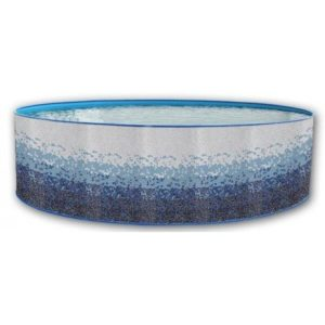 Best Swimming Pool for Garden Swimming Pool Round TRENCADIS Decorative Mosaic 4.0 m x 0.90 m you 8589