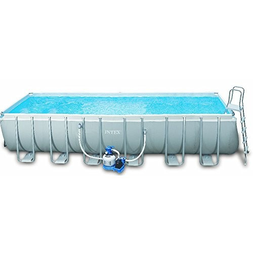 Intex Ultra Frame Rectangular Above Ground Swimming Pool 24ft X 12ft X 52 Best Swimming Pool