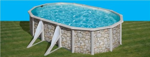 Best Swimming Pool for Garden san marina iraklionsteel wall stone effect 5.00 x 3.00 x 1.2m