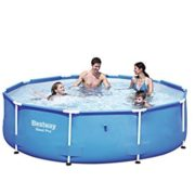 Best Swimming Pool for Garden Bestway Steel Pro Frame Swimming Pool 305 x 76 - Blue