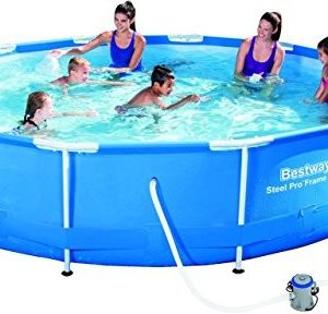 Best Swimming Pool for Garden Bestway Steel Pro Frame Swimming Pool with Pump - 12 feet x 30 Inches