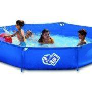 Best Swimming Pool for Garden Children's Basic Paddling Pool 250 x 50 cm Detachable Hexagonal Design