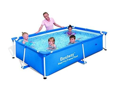 Best Swimming Pool for Garden Bestway 94 x 59 x 23-inch 1800L Splash Frame Pool