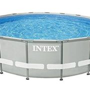Best Swimming Pool for Garden Intex 28907 Frame Replacement Swimming Pool 488 x 122cm Metal