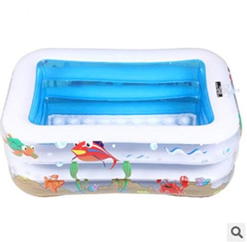 Gds Fashion Casual Adult Children 39 S Inflatable Pool Big Pvc Inflatable Family Paddling Pool