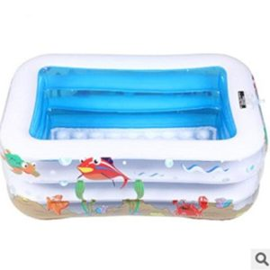 Best Swimming Pool for Garden GDS Fashion casual adult children's inflatable pool. big PVC inflatable family paddling pool
