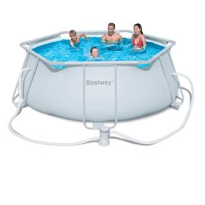 """Best Swimming Pool for Garden Bestway 11ft 8"""" x 40"""" Steel Pro Frame Above Ground Pool with Filter Pump (56245)"""