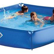 Best Swimming Pool for Garden Pools Toi 3170-Pool Hexagonal ø 460cm, Blue