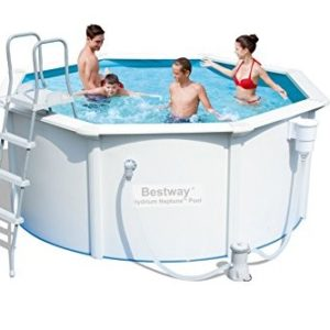 Best Swimming Pool for Garden 'Hydrium Neptune 305X122CM' Steel Wall Pool Set with Filter Pump and Accessories