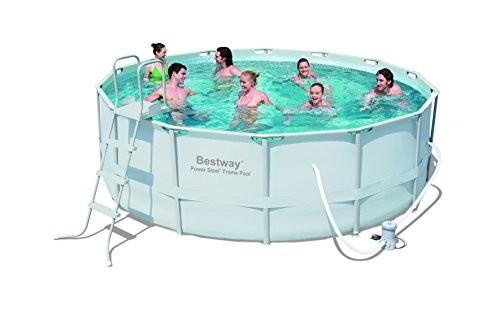 Bestway Oval Fast Set Above Ground Pool Blue 16 Ft