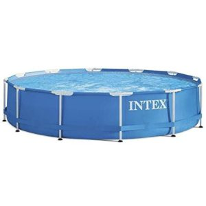 Best Swimming Pool for Garden AK SPORTS 775237 366 x 76 cm Intex Metal Frame Pool - Blue