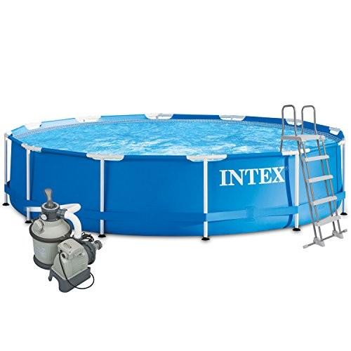 intex 457x122 cm complete set with intex sand filter. Black Bedroom Furniture Sets. Home Design Ideas