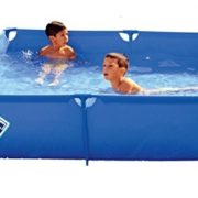 Best Swimming Pool for Garden Pools Toi 3153 - Paddling Pool Square 120 x 120 x 35 cm, Blue