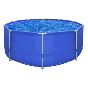 Best Swimming Pool for Garden vidaXL Above Ground Swimming Pool Steel Frame Round 367 x 122 cm