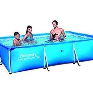 """Best Swimming Pool for Garden Bestway 118"""" x 79"""" x 26"""" Steel Pro Frame Pool 56043"""