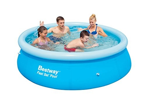 """Best Swimming Pool for Garden BESTWAY- 8FT FOOT x 26"""" FAST SET SWIMMING POOL BW57008"""