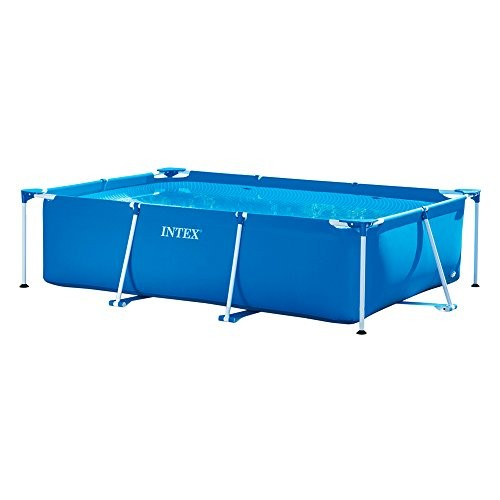 Best Swimming Pool for Garden Intex Small Family Frame Pool 3m x 2m x 0.75m #28272