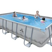 Best Swimming Pool for Garden Rectangular pool mistai flat tube 549x305x122 cm