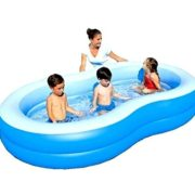 Best Swimming Pool for Garden BESTWAY INFLATABLE BLUE LAGOON FAMILY LOUNGE PADDLING SWIMMING GARDEN POOL 54117