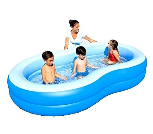 Bestway Inflatable Blue Lagoon Family Lounge Paddling Swimming