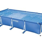 Best Swimming Pool for Garden INTEX 28273NP 177.25in x 86.625in x 33in Rectangular Frame Pool - Blue