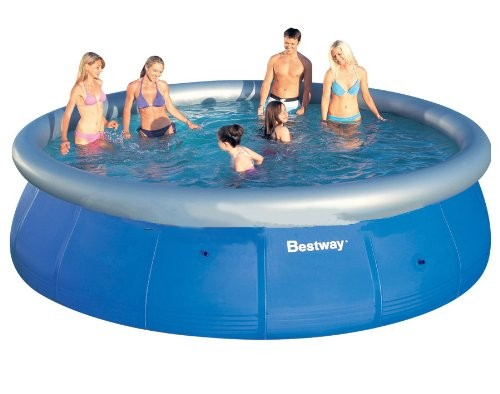 "Best Swimming Pool for Garden Bestway 15' x 42"" Fast Set Pool"