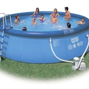 "Best Swimming Pool for Garden 18' x 48"" deep swimming pool"