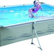 Best Swimming Pool for Garden Rectangular pool with structure 300x207x70 cm