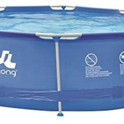 Best Swimming Pool for Garden Jilong 16026eu Round Pool with structure, Blue