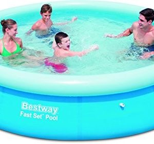 Best Swimming Pool for Garden Bestway Inflatable Fast Set Swimming Pool - 12 feet