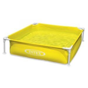 Best Swimming Pool for Garden INTEX Mini Frame Pool Yellow / 57172EP /