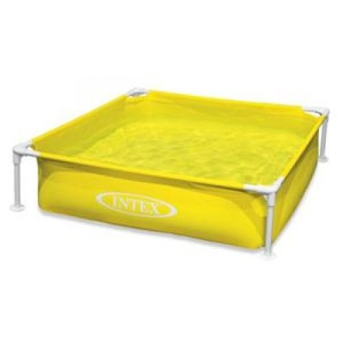 Best Swimming Pool for Garden INTEX Mini Frame Pool Yellow / 57172EP /
