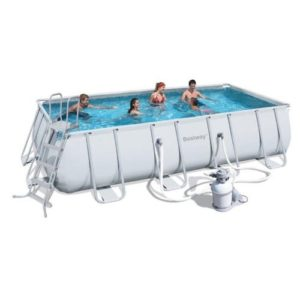 "Best Swimming Pool for Garden Bestway Rectangular Pool Hard ""Trasimeno Small 549x 274x 122h cm 57kg"