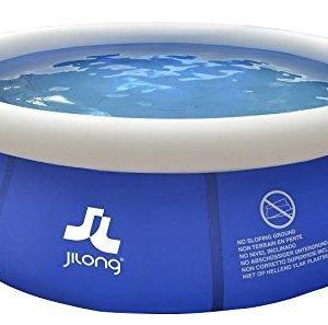 Best Swimming Pool for Garden Jilong 10202eu Round Frame Pool, Blue