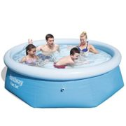 Best Swimming Pool for Garden Bestway Inflatable Fast Set Swimming Pool - 8 feet