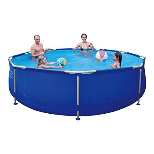 Best Swimming Pool for Garden Jilong Sirocco Blue 360 - steel frame pool, round pool ø360x76cm