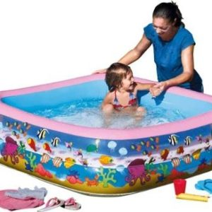 Best Swimming Pool for Garden Chad Valley Aquarium Square Print Paddling Pool.