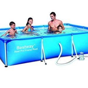 Best Swimming Pool for Garden Bestway 118 x 79 x 26-inch Deluxe Splash Frame Pool Set