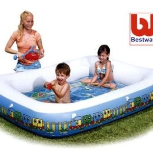 Best Swimming Pool for Garden Bestway Splash and Play 1 2 3 Train Activity Pool Sport Leisure Inflatables Childrens 6942138905632