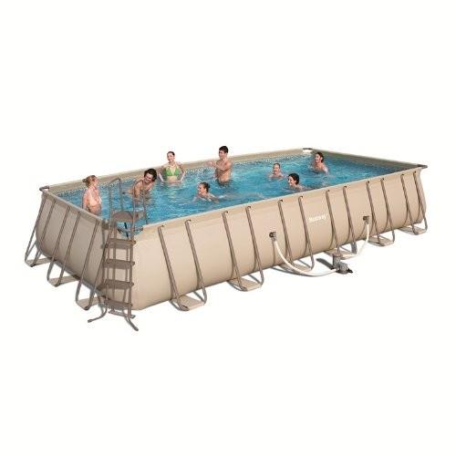 Rectangular Bestway Frame Pool 7 32 X 3 66 X 1 32m Best Swimming Pool For Garden