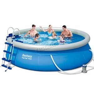 Best Swimming Pool for Garden BestWay Fast Set Swimming Pool Set Round Inflatable Above Ground 12ft x 36inch With Filter Pump Ladder 57277